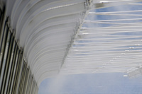 兵庫県 熱中症対策のミストシャワー