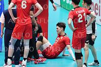 バレーボール:男子日本代表 紅白戦
