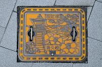 島根県松江市 消火栓蓋