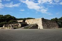東京都 皇居 本丸跡の石垣
