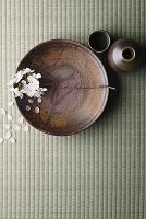 備前焼と吉野桜