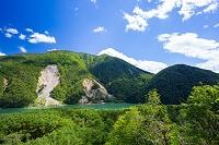 岐阜県 飛越峡合掌ラインの眺望