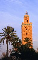モロッコ ミナレット