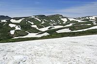 北海道 大雪山 黒岳石室付近から見る北海岳