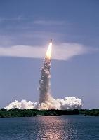 アメリカ ケネディ宇宙センター コロンビア号の打ち上げ