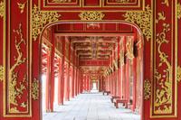 ベトナム フエ 阮朝王宮/回廊