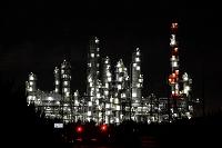 茨城県 夜の工場