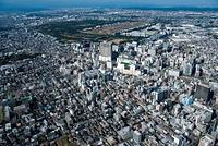 立川駅と立川市街地周辺