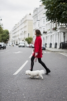 イギリス ロンドン 犬の散歩
