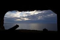 東京都 コペペ砲台から見る夕景の空模様