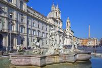 イタリア ローマ ナヴォーナ広場