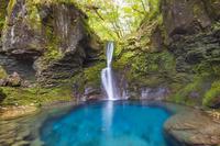 栃木県 おしらじの滝