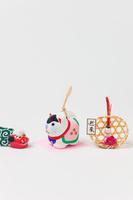 佐野土鈴犬鈴と正月飾り