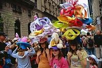 ニューヨーク 五番街 イースターパレード