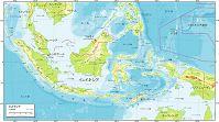 インドネシア 自然図