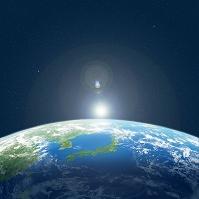 宇宙から見る地球