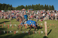 クロアチア ゴルニャ・ストゥビツァ 中世の騎士のトーナメント