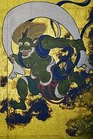 京都府 建仁寺 風神雷神図 (レプリカ)