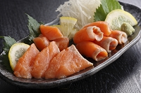 トキシラズ 鮭の刺身