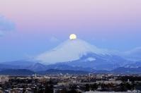 神奈川県 片瀬山よりパール富士