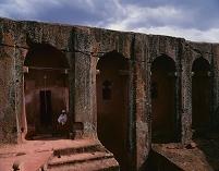エチオピア ラリベラ 岩窟教会群 ベタ・ガブリエル