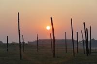 アメリカ イリノイ カホキア墳丘群州立史跡