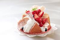 母の日いちごケーキ