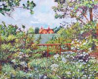 デイヴィッド・ロイド・グローバー「English Field Fence」