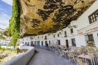 スペイン セテニル・デ・ラス・ボデガス 洞窟住居