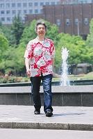 東京都 日比谷公園 男性