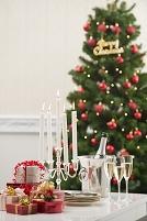 クリスマスとテーブルコーディネート
