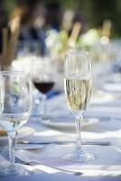 結婚披露宴 シャンパン