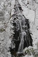 冬のガラシャの滝