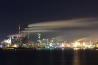 宮城県 石巻市 工場夜景