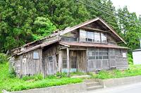青森県 今別町 廃屋