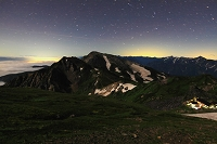 長野県  白馬岳から杓子岳 白馬鑓ヶ岳
