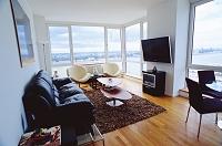 ニューヨーク・マンハッタン 高層マンションの部屋