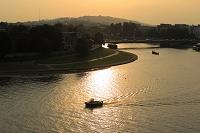 ポーランド クラコフ ヴィスワ川