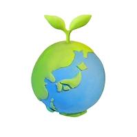 新芽と地球