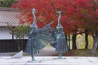 島根県 鷺舞の像