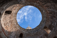 クロアチア スプリト ディオクレティアヌス宮殿 吹き抜けの前庭