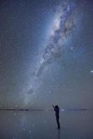 夜のウユニ塩湖