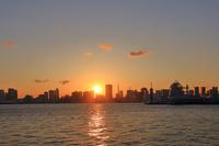 東京都 東京湾 豊洲ぐるり公園から
