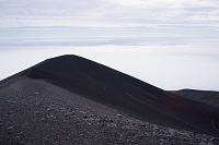 静岡県 富士山 御殿場ルート 宝永山 火口