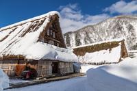 富山県 冬の菅沼合掌集落