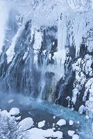 北海道 美瑛町 白髭の滝