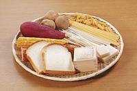 炭水化物を多く含む食材