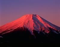 山梨県 二十曲峠より富士山 朝