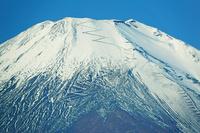 山梨県 パノラマ台から朝の富士山