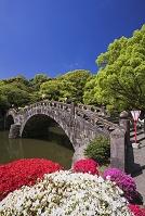 長崎県 諫早公園の眼鏡橋